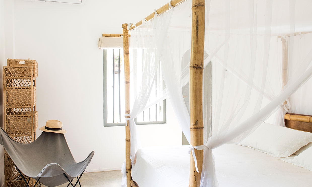 Double bed Room at the Cottage Bentota